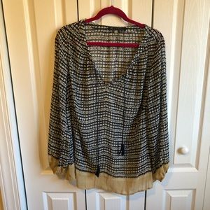Belle sleeve blouse